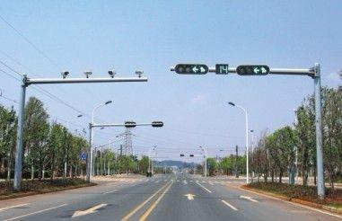 专用道路监控杆